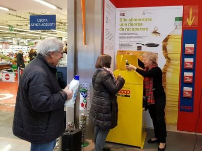 Il progetto Dall'olio all'olio ora è anche a Settimo Milanese