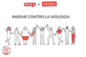 Insieme contro la violenza con Satispay, non solo il 25 novembre!