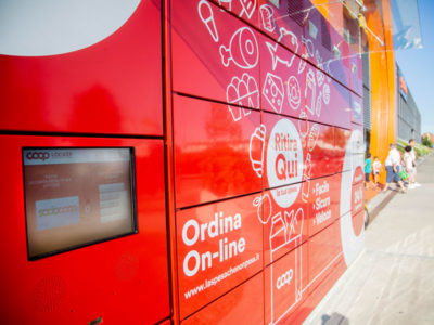 Coop Lombardia e Vodafone Italia lanciano i locker digitali
