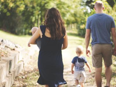 Camminata in famiglia a Trescore Balneario