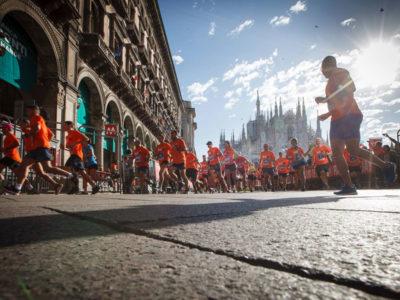 Deejay Ten sei pronto a correre nel centro di Milano