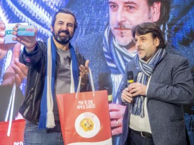 All'ipercoop di Brescia festa rock con Omar Pedrini