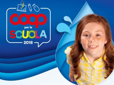 Coop per la scuola 2018: carica i buoni e dona i premi