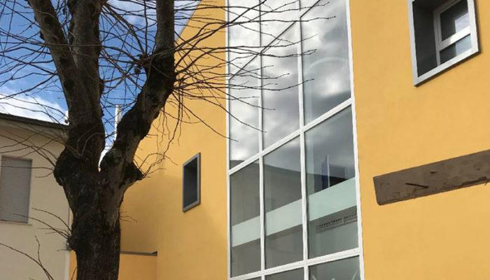 Il nostro cuore va al centro: dopo il sisma apre la nuova scuola di Caldarola