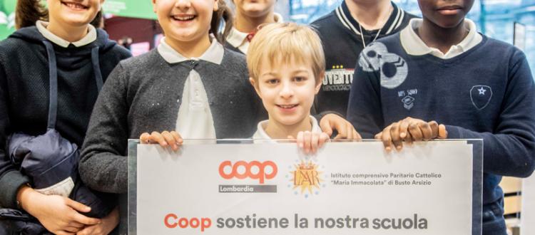 Nei supermercati Coop di Busto Arsizio puoi sostenere la tua scuola