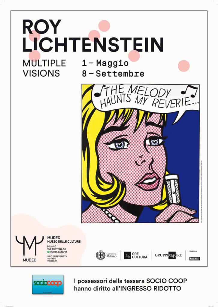 Al Mudec la mostra Roy Lichtenstein - Multiple Visions
