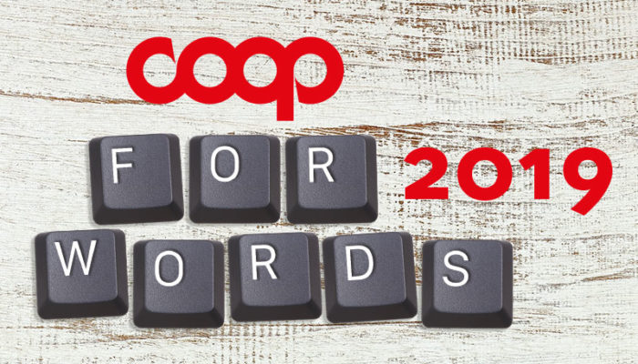 Coop For Words 2019: premiamo i giovani talenti
