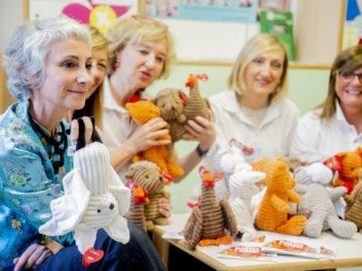 Tanti nuovi Fortunelli per rallegrare i bambini in ospedale