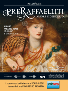 Al Palazzo Reale la mostra Preraffaelliti. Amore e desiderio