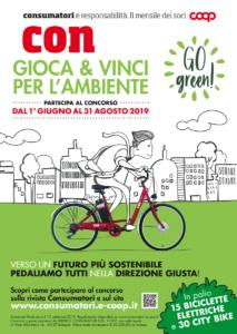 Concorso Go Green: vince chi sostiene l'ambiente