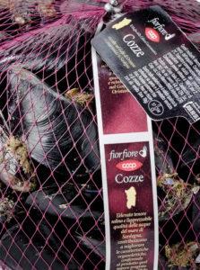 Prodotti Coop cozze Fiorfiore dal mare di Sardegna