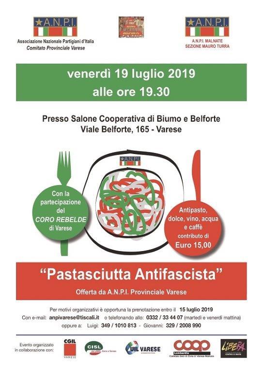 Pastasciutta Antifascista a Varese