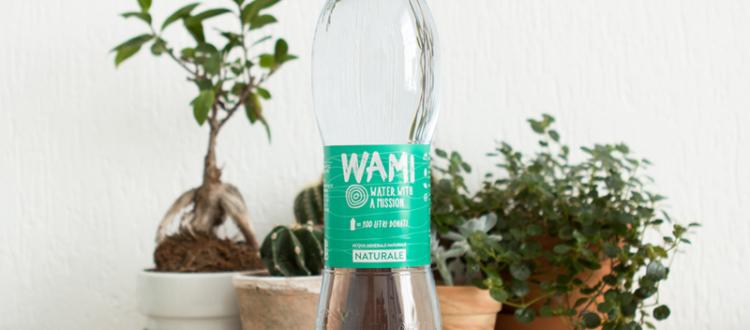 WAMI l'acqua con una missione solidale e ambientale