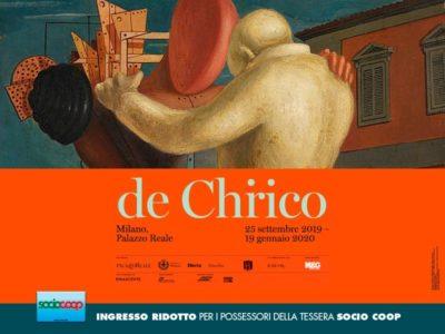 A Palazzo Reale la mostra dedicata a Giorgio de Chirico