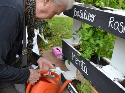Al Pio Albergo Trivulzio spazi verdi per l'Alzheimer
