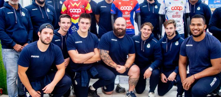 Presentazione della nuova maglia del Rugby Parabiago
