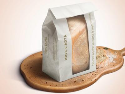 Alla Coop il nuovo sacchetto del pane è interamente in carta