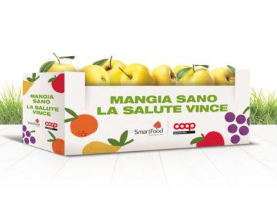 Mangia sano la salute vince con le nuove cassette Smartfood