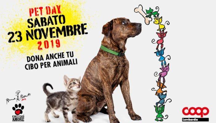 Pet Day 2019 il 23 novembre partecipa anche tu