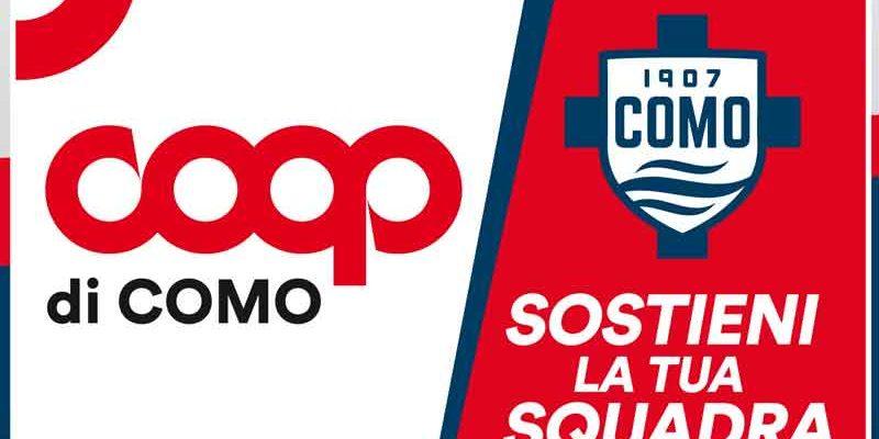 Coop Lombardia official sponsor del Como 1907