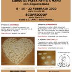 Cucinare col cuore 2020 - Corso di pasta fatta a mano