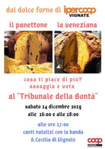 Panettone e Veneziana al Tribunale della Bontà di Vignate