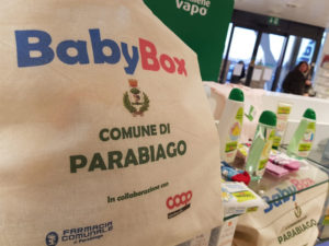 A Parabiago Coop Lombardia sostiene il progetto BabyBox