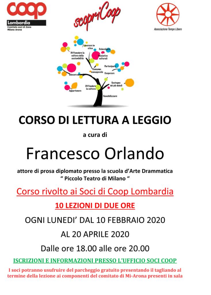 Corso di lettura a leggio, a cura di Francesco Orlando