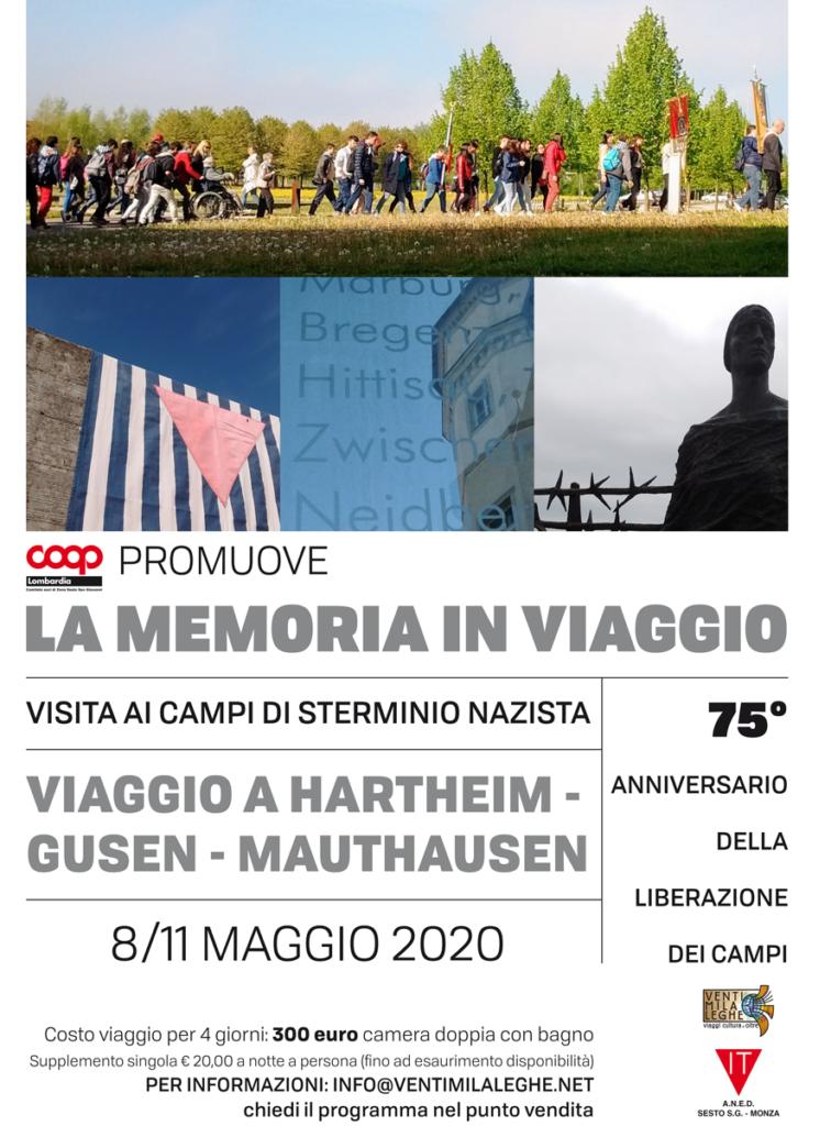 Giornata della Memoria 2020: La memoria in viaggio. Viaggio a Hartheim, Gusen e Mauthausen