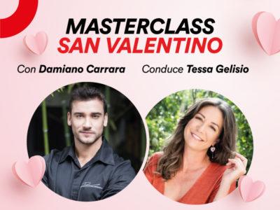 Partecipa alla masterclass di San Valentino con Damiano Carrara