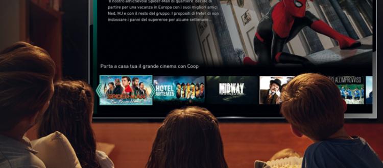 Vantaggi per i Soci Coop porta il cinema di CHILI a casa tua