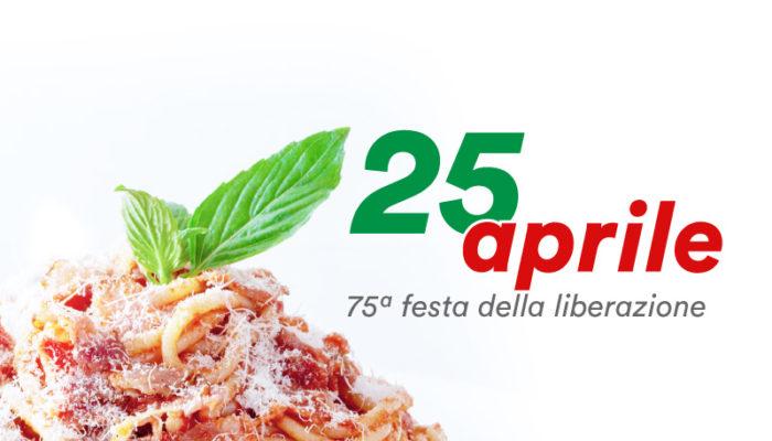 25 aprile 2020: 75 anni di memoria, libertà e resistenza