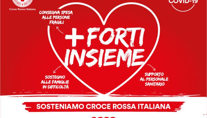 Più forti insieme: sostieni con noi la Croce Rossa Italiana