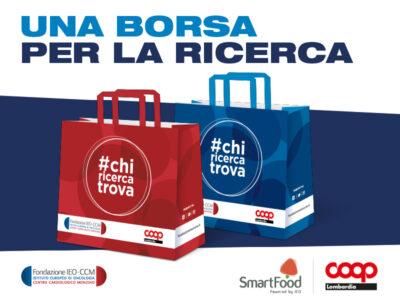 #Chiricercatrova acquista una shopper per la ricerca