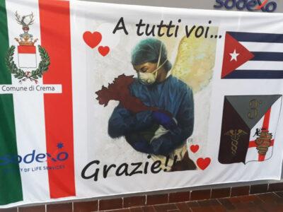 Crema saluta e ringrazia la brigata di medici cubani