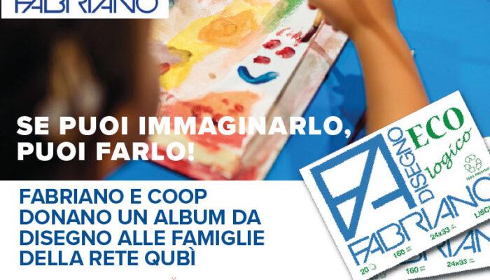 Grazie a Fabriano e Coop se puoi immaginarlo, puoi farlo