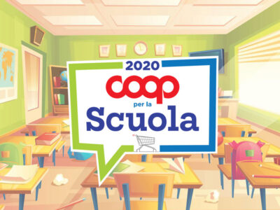 Coop per la Scuola quest'anno parte prima