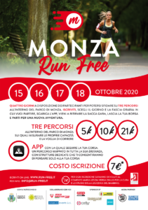 Monza Run Free: quattro giorni per gli appassionati di corsa