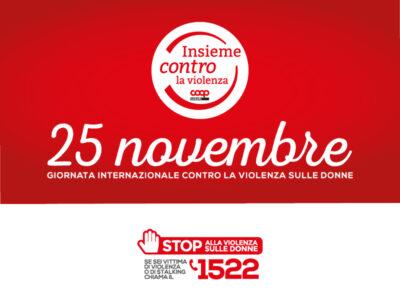 25 novembre 2020: insieme contro la violenza - Telefono