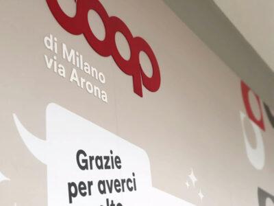 A Milano, la Coop di via Arona è completamente rinnovata