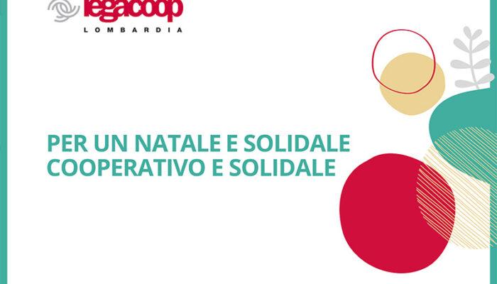 Con Legacoop le iniziative per un Natale cooperativo e solidale