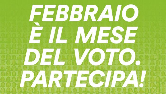 Febbraio 2021: mese del voto per i soci!