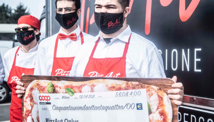 Consegna fondi PizzAut